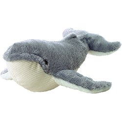 Ahab Whale Mini Flopsies Stuffed Animal by Aurora World