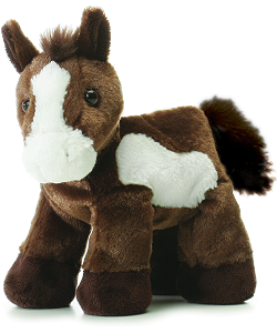 Paint Horse Mini Flopsies Stuffed Animal by Aurora World