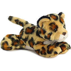Amazon Jaguar Mini Flopsies Stuffed Animal by Aurora World