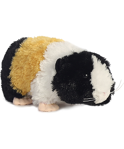 Genny Guinea Pig Mini Flopsies Stuffed Animal by Aurora World