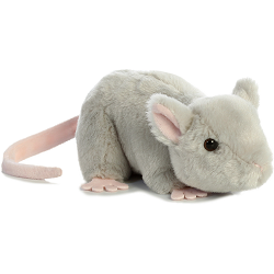 Mouse Mini Flopsies Stuffed Animal by Aurora World