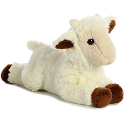 Goat Kid Mini Flopsies Stuffed Animal by Aurora World