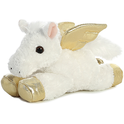 Pegasus Mini Flopsies Stuffed Animal by Aurora World