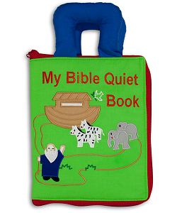 My Bible Quiet Book Cloth Activity Book (Closed)