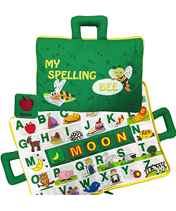 My Spelling Bee Cloth Playset by Pockets of Learning