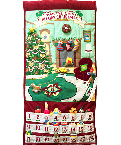 'Twas the Night Before Christmas Advent Calendar by Pockets of Learning