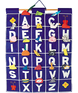 ABC Wall Hanging (Blue) by Pockets of Learning