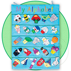 My Alphabet Wall Hanging by Rosalina Baby