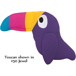Fabric Wall Art Toucan: #50 Jewel
