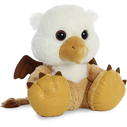 Olympus Griffin Taddle Toes Plush Animal by Aurora