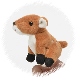 Fawn Finger Puppet Stuffed Animal by Unipak