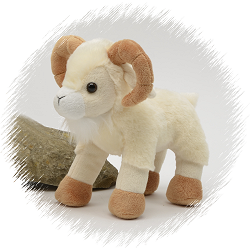 Ram (Large) Gibbles Stuffed Animal by Unipak Designs