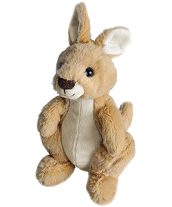 Kangaroo Hug'ems Stuffed Animal by Wild Republic