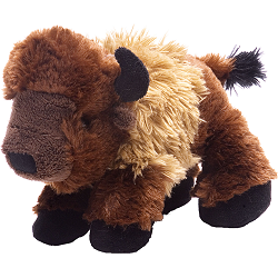 Bison Hug'ems Stuffed Animal by Wild Republic