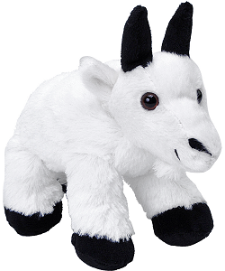 Mountain Goat Hug'ems Stuffed Animal by Wild Republic