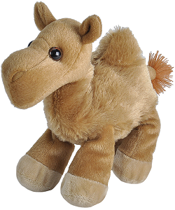 Camel Hug'ems Stuffed Animal by Wild Republic
