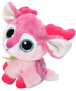 Winter Wonderland Reindeer Li'l Sweet & Sassy Stuffed Animal by Wild Republic