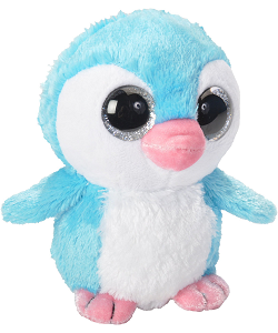 Iceberry Penguin Li'l Sweet & Sassy Stuffed Animal by Wild Republic