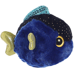 Tangee Blue Tang Fish (Mini) YooHoo & Friends Stuffed Animal by Aurora World