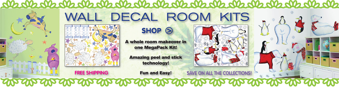 Peel & Stick Room Kits