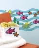 KP Kids Sea Creatures Wallies Wallpaper Cutouts in Use