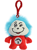 Thing 2 Dr. Seuss Plush Clip-On Stuffed Animal by Aurora