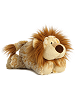 Laugh Lion Funny Bones Stuffed Animal by Aurora World (Lying Down)
