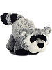 Ruckus Raccoon Funny Bones Stuffed Animal by Aurora World (Crouching)