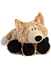 Funnny Fox Funny Bones Stuffed Animal by Aurora World (Lying Down with Chin on Paws)