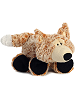 Funnny Fox Funny Bones Stuffed Animal by Aurora World (Lying Down; Feet Front; Rotated Right)