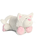 Chuckles Cat Funny Bones Stuffed Animal by Aurora World (Lying Down)