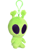 Twitch Alien Galactic Cuties Plush Clip-On (Rotated)