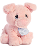Bacon Piggy Precious Moments Stuffed Animal (Rotated View)
