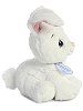 Floppy Bunny (White) Precious Moments Stuffed Animal (SideView)