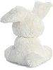 Floppy Bunny (White) Precious Moments Stuffed Animal (Back View)
