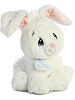 Floppy Bunny (White) Precious Moments Plush Animal by Aurora