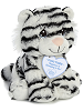 Togo Tiger (White) Precious Moments Stuffed Animal (Rotated View)