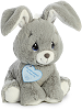 Floppy Bunny (Grey) Precious Moments Stuffed Animal (Rotated)