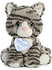 Cinder Kitten Precious Moments Plush Animal by Aurora