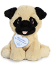 Bella Pug Precious Moments Plush Animal by Aurora