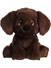 Cocoa Chocolate Lab Precious Moments Stuffed Animal (Front)