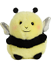 Bee Happy Bumblebee Rolly Pets Stuffed Animal by Aurora World (Front)