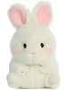 Bunbun Bunny Rolly Pets Stuffed Animal by Aurora World (Front)