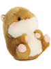 Frolic Hamster Rolly Pets Stuffed Animal by Aurora World (Rotated Rolled View)