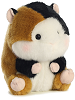 Sprite Guinea Pig Rolly Pets Stuffed Animal by Aurora World (Rotated Right)