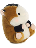 Sprite Guinea Pig Rolly Pets Stuffed Animal by Aurora World (Rolled Right View)
