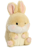 Lively Bunny Rolly Pets Stuffed Animal by Aurora World (Rotated Slightly Right)