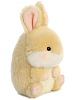 Lively Bunny Rolly Pets Stuffed Animal by Aurora World (Rotated Right)