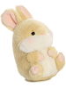 Lively Bunny Rolly Pets Stuffed Animal by Aurora World (Rotated Rolled View)