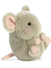 Frisk Mouse Rolly Pets Stuffed Animal by Aurora World (Right Rolled View)